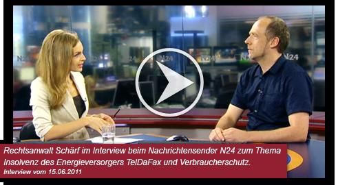 Insolvenz, Energieversorger, Rechtsanwalt Michael Schärf